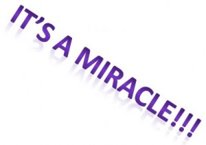 Itz a miracle