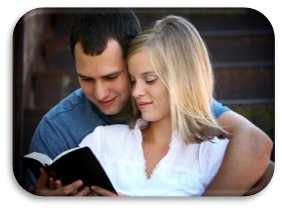 Couple Reading Bible 2